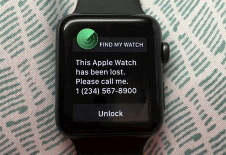 iCloud Locked Watch