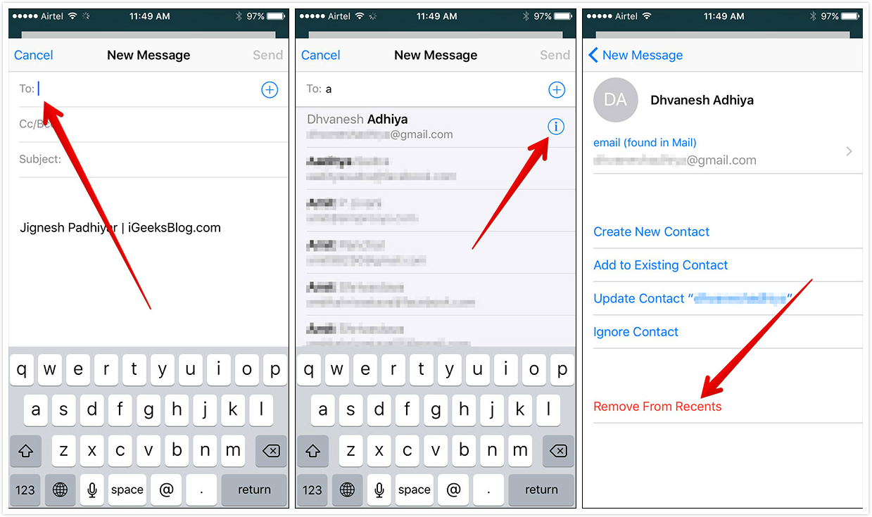 How to Remove Unwanted Email Suggestions from Mail App