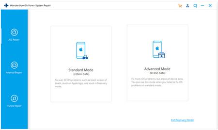 Repair and Downgrade iOS with Dr. Fone - System Repair