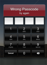 Removing Password from an iPhone