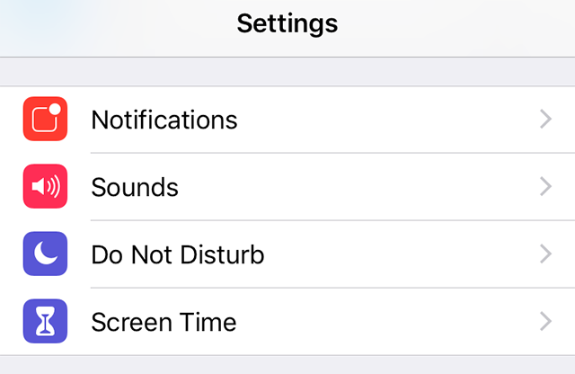 Access Screen TimeFeature