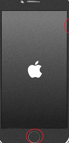 Force Restart iPhone 6 or Earlier