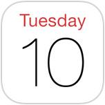 Restore Calendar on iPhone