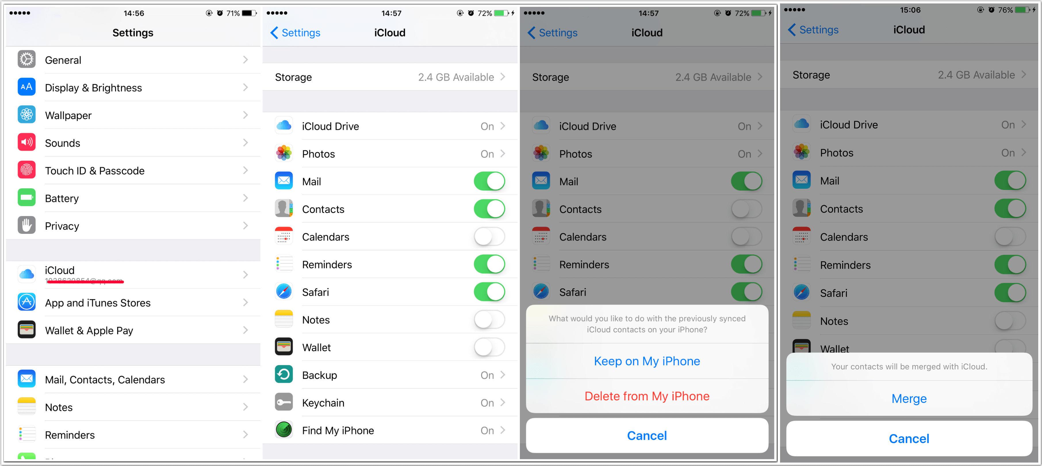 How to Restore Contacts from iCloud to iPhone