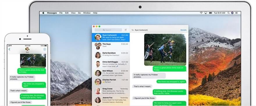 Find Deleted Text Messages on iPhone 11/12 from iCloud-Paired Mac