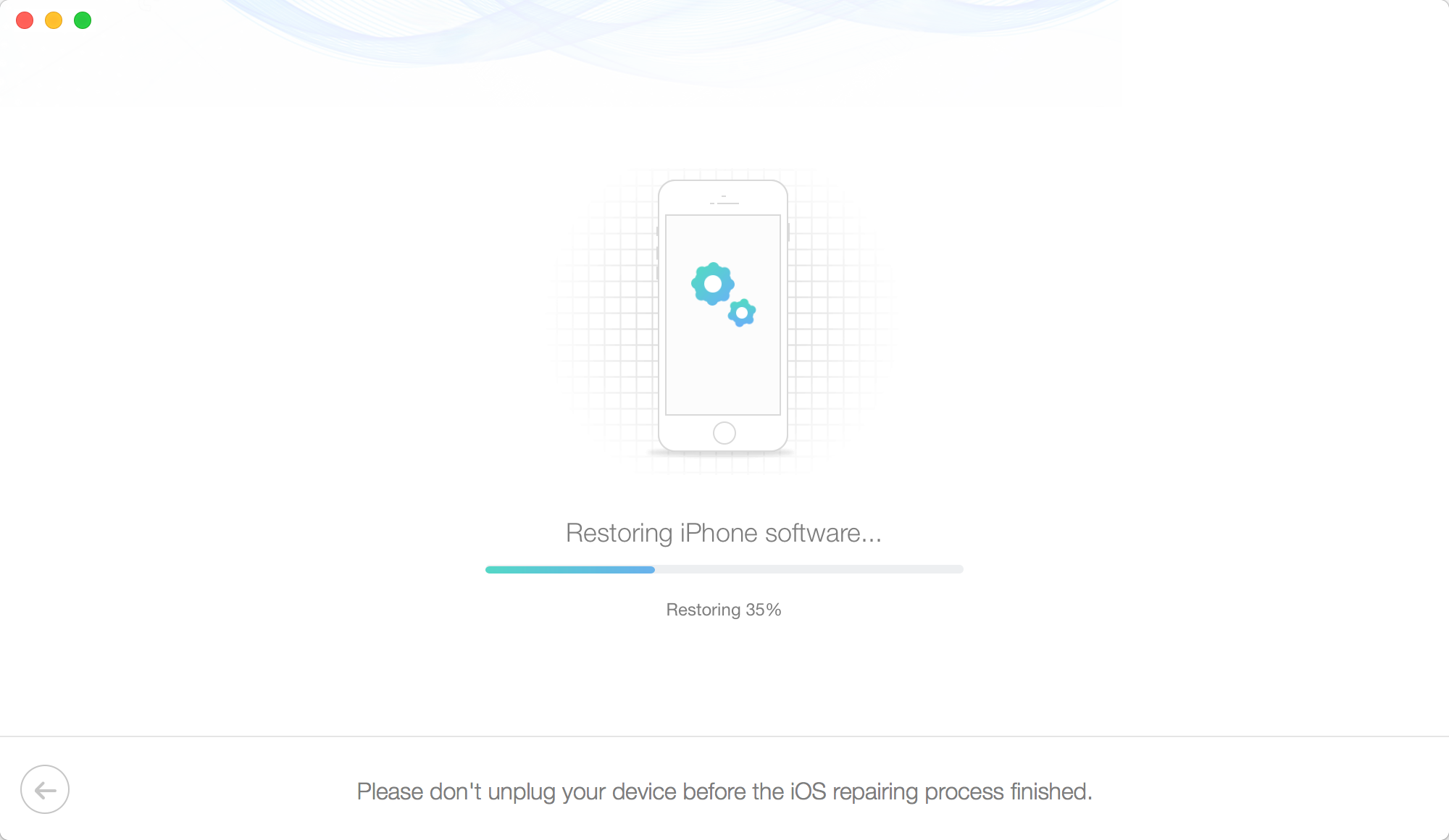 Restore iPhone in Recovery Mode Without iTune - Step 5