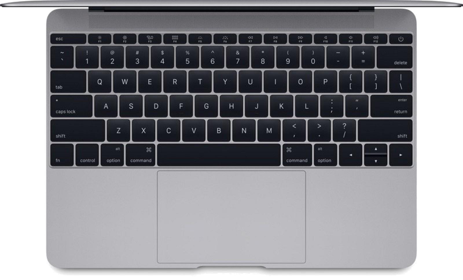 Retina MacBook 12 Inch Model - Keyboard Redesign