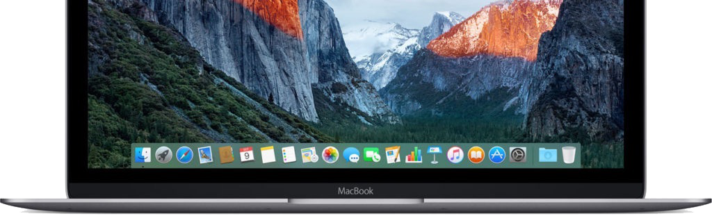 Retina MacBook 12 Inch Model - Built-in Apps