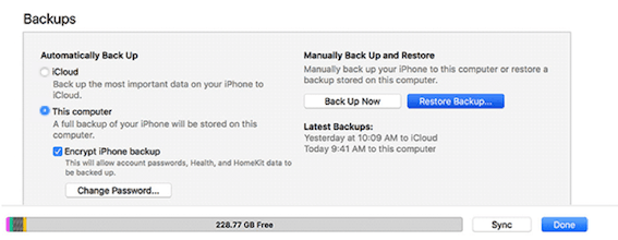Restore Deleted Texts Messages from iTunes Backup - Step 1
