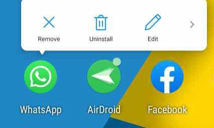 Uninstall WhatsApp on Huawei Phone