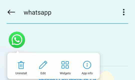 Remove WhatsApp from Huawei Device