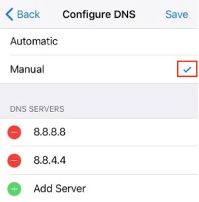 Fix Safari Cannot Open the Page on iPhone - Check DNS