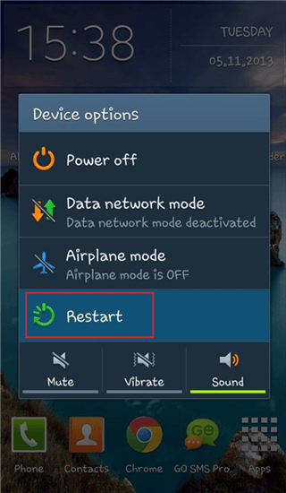How to Turn off Safe Mode on Android Phone/Tablet via Restart