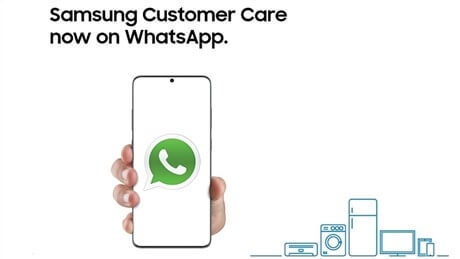 Samsung Customer Care on WhatsAPP