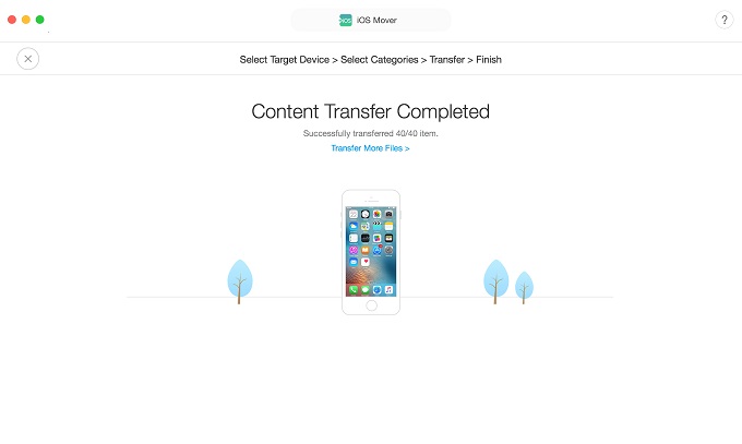 2018 Top Samsung to iPhone Transfer Tool Review via AnyTrans for iOS - Step 4