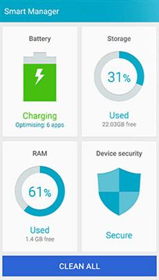 Samsung Smart Manager App
