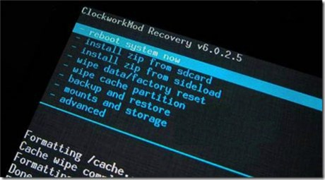 Access to Android Recovery Mode