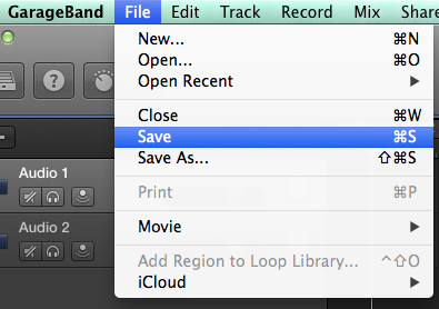 Quick Guide] How to Save GarageBand as MP3
