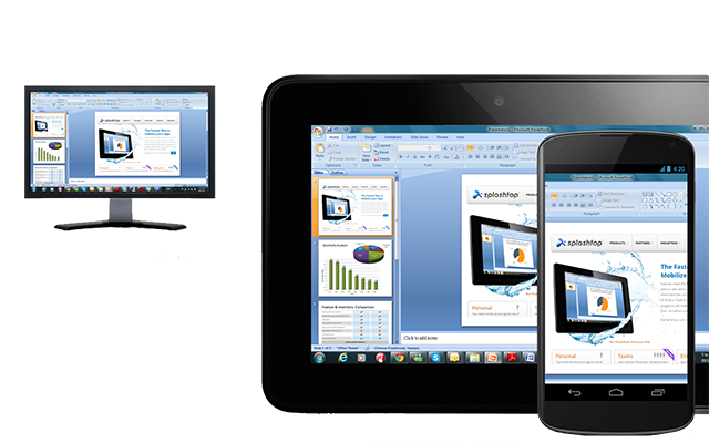 Screen sharing software #4 - Splashtop