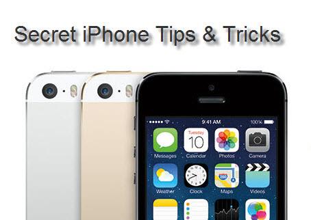 Secret iPhone Tips & Tricks