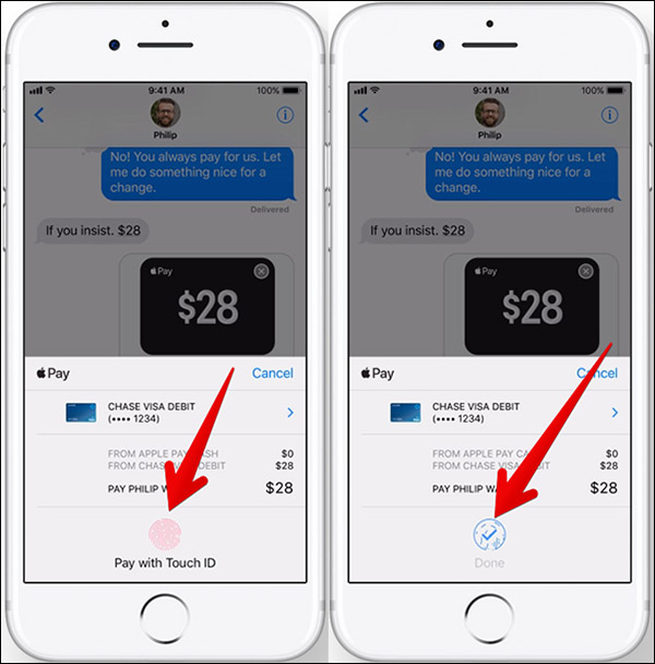 How to Send/Receive Money through iMessage in iOS 11 - Step 4