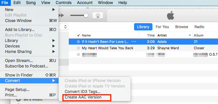 How to Set MP3 as Ringtone on iPhone with iTunes – Step 5