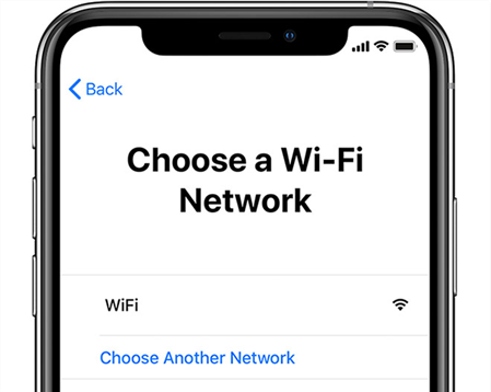 Join a WiFi Network on the iPhone