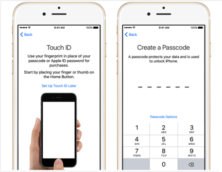 How to Set Up New iPhone from iCloud - Step 5