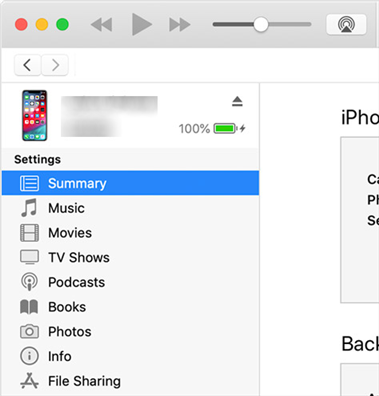 Transfer photos from iPhone to computer with iTunes