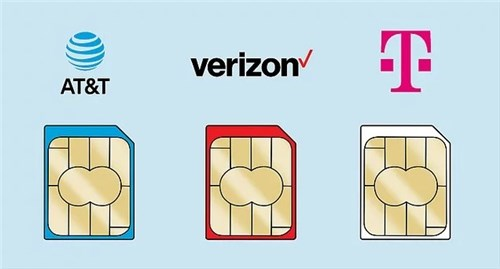 Different Carrier's SIM Card