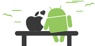 Similarities between iPhone and Android