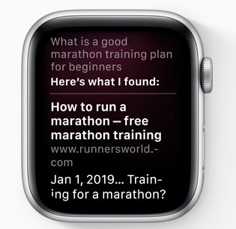 Siri Enhancements in WatchOS