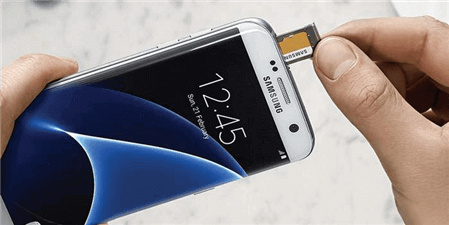Fix Samsung Black Screen by Removing SD Card