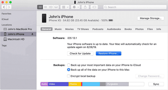 Comment restaurer votre iPhone via iTunes