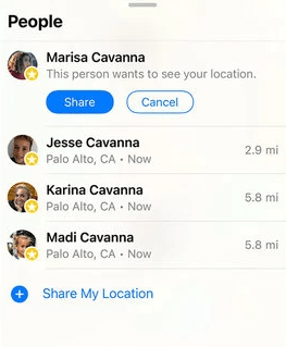 Stop Your iPhone Sharing Location