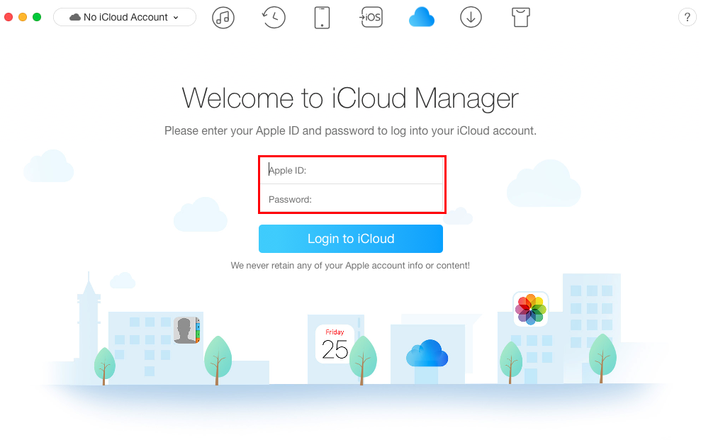 How to Transfer Calendar from Android to iCloud - Step 3