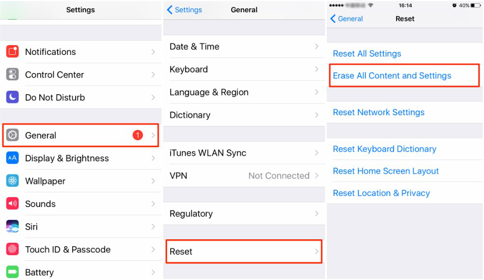 How to Sync Contacts from iCloud to iPhone 6/6s/7/8/X - Step 1