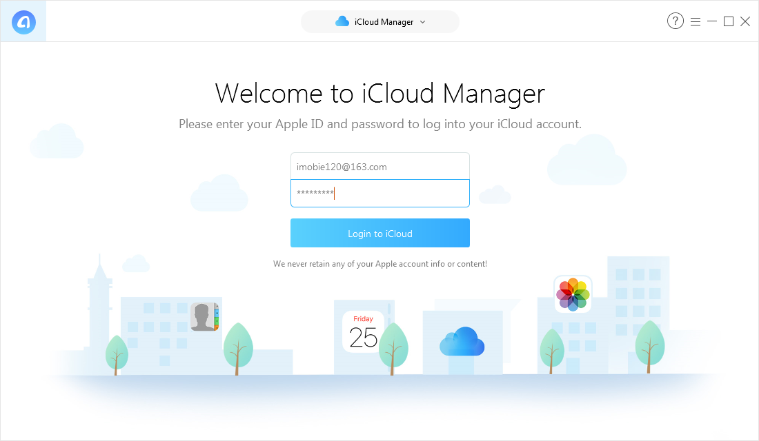 How to Import Google Contacts to iCloud via AnyTrans - Step 2