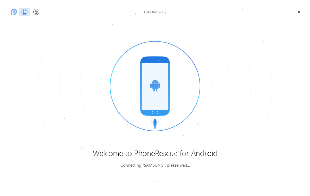 How to Use PhoneRescue for Android to Recover Deleted Data from Motorola - Step 1