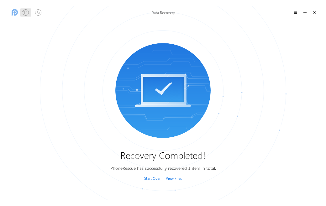 How to Use PhoneRescue for Android to Recover Deleted Data from Motorola - Step 4