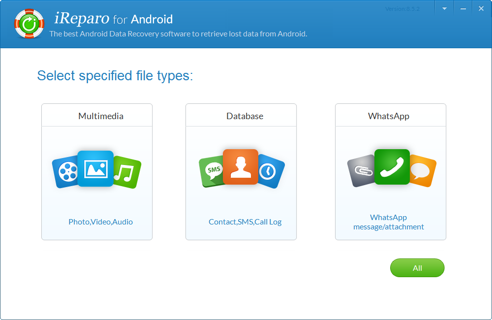 Jihosoft Android Recovery Screenshot