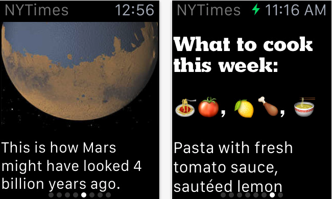 Best Apple Watch Apps – New York Times