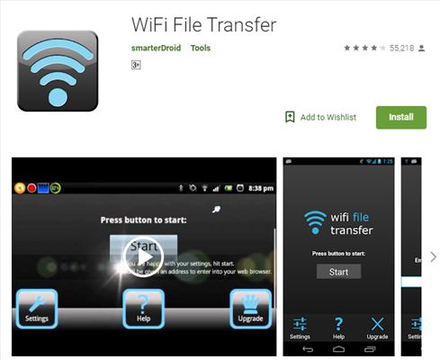 Top Android WiFi Transfer - WiFi File Transfer