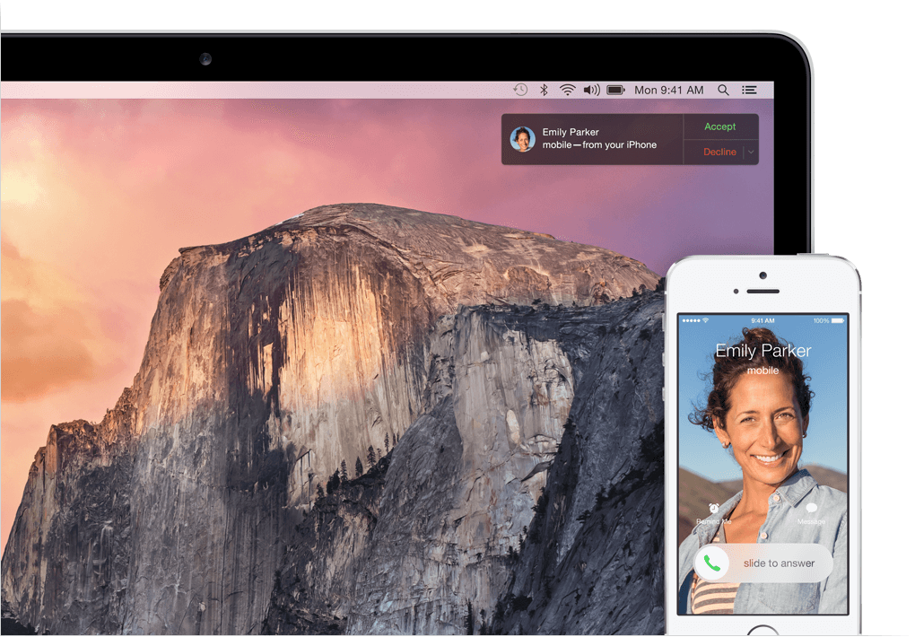 Yosemite New Feature – Continuity