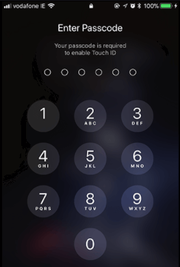Touch ID Requires the Passcode to Unlock iPhone