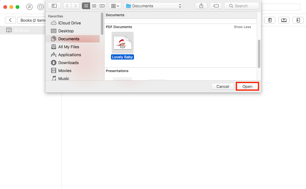 How to Transfer PDF Presentation to iPad with AnyTrans - Step 2