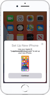 Transfer Apps from iPhone to iPhone Via Quick Start