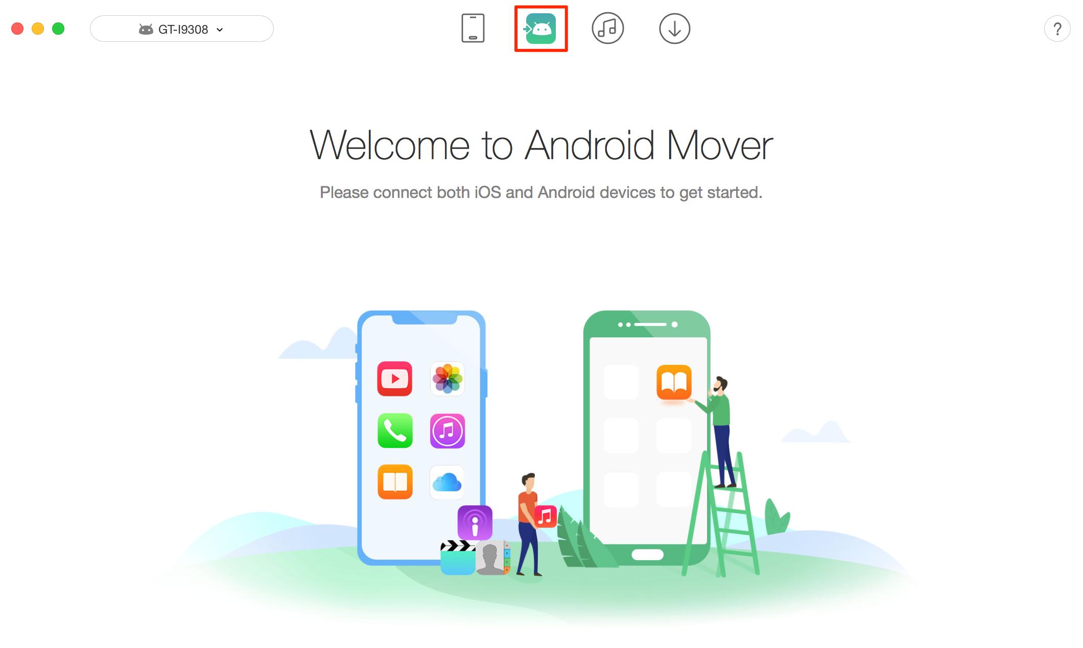 Transfer Calendar from iPhone to Calendar – Step 1