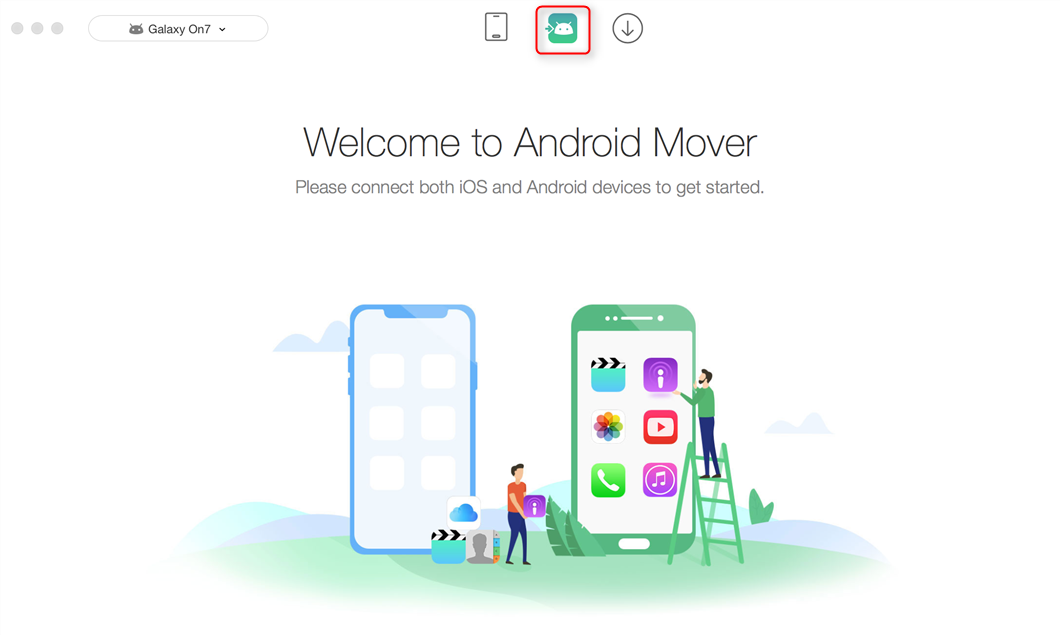 How to Transfer Contacts from Apple to Android - Step 1