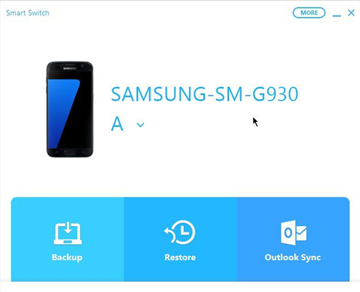 Transfer Contacts from Samsung to Samsung S9 via Smart Switch